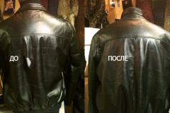 реставрация куртки до и после